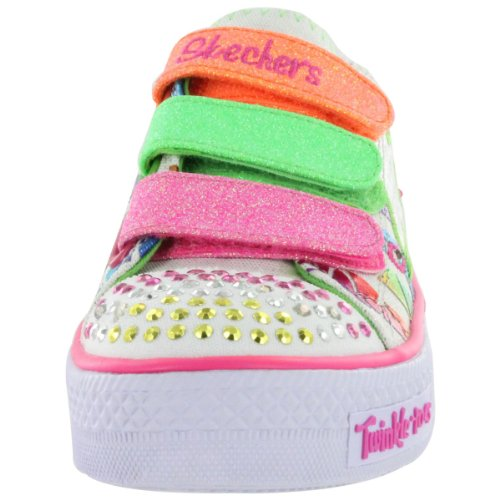 Skechers Kids 10336N Twinkle Toes Classy Sassy Lighted Sneaker (Toddler)