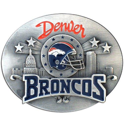 (NFL Denver Broncos Belt Buckle)