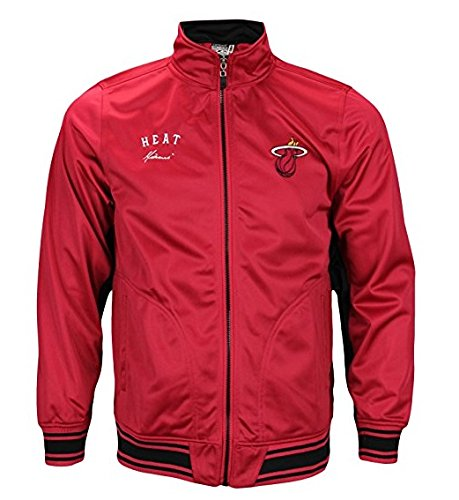 Miami Heat NBA Big Boys Youth Anderson Track Jacket, Red (X-Large) (Fleece Pullover Youth Miami)