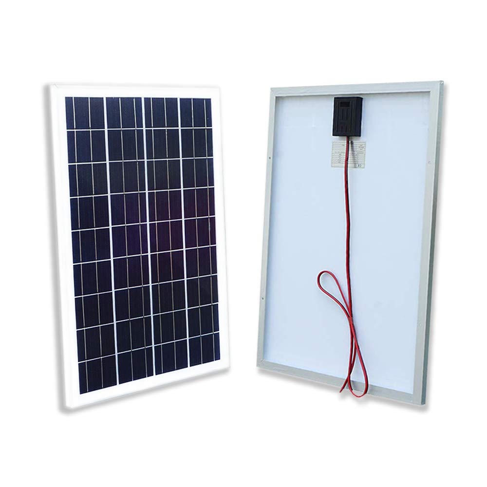 ECO-WORTHY 12V Solar Panel 25W Watt Module Off Grid Charging RV Boat by ECO-WORTHY