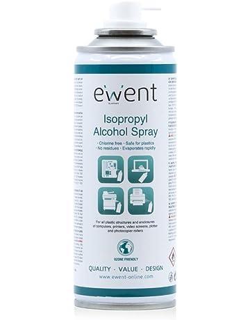Ewent EW5613 - Pulverizador de Alcohol isopropílico Spray 200ml, Transparente