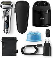 Braun Series 9 Afeitado 9292 CC, con carga y de limpieza y estuche de viaje, plata: Amazon.es: Salud y cuidado personal