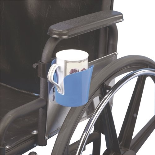 Wheelchair Accessory, Clamp-On Cup Holder - 1 Each / Each - 43-2286
