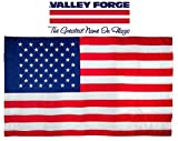 Valley Forge American Flag | 2.5'x5' 100% Cotton Flag with Sleeve | US Flag