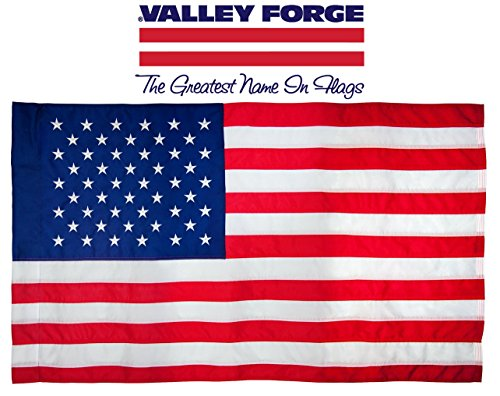 United States Air Force Honor Guard - Valley Forge American Flag | 2.5'x5' 100% Cotton Flag with Sleeve | US Flag