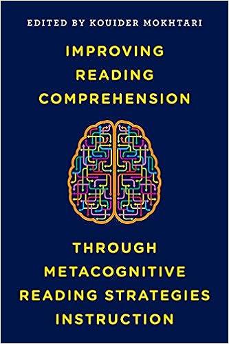 Amazon Improving Reading Comprehension Through Metacognitive