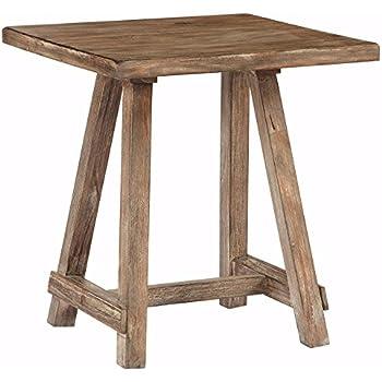 Delicieux Ashley Furniture Signature Design   Vennilux End Table   Rustic Accent Side  Table   Square
