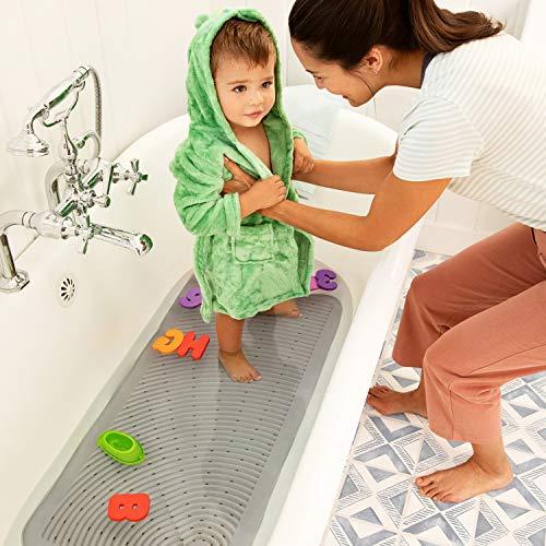 5111iXvDVsL - Munchkin Soft Spot Cushioned Bath Mat, Grey