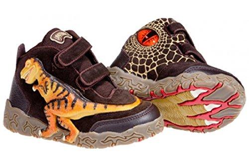 Dinosoles X10T Rex Baskets montantes enfants–Chaussures Femme–Moka