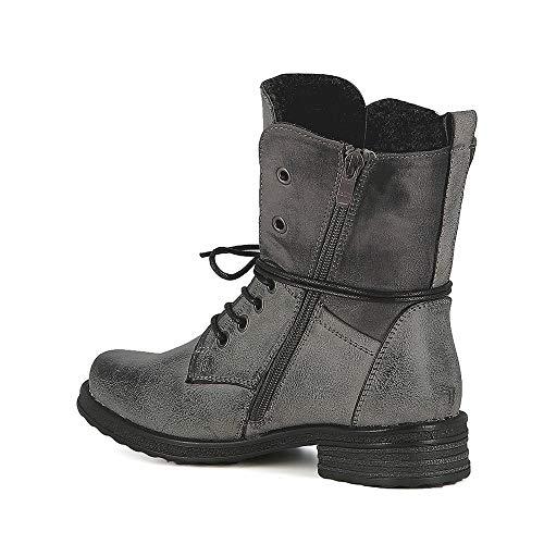 Boots Rangers Rangers Inspiration Inspiration Misstic Boots Gris Misstic qg7gv