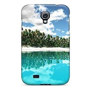 IpasIdr8901jMOfA Case Cover Tropical Isl Paradise Galaxy S4 Protective Case