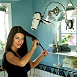 Suction Cup Hands Free Hair Dryer Stand Holder - 360 Degree Blow...