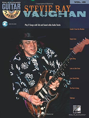 Stevie Ray Vaughan: Guitar Play-Along Volume 49, with CD (Hal Leonard Guitar Play-Along)