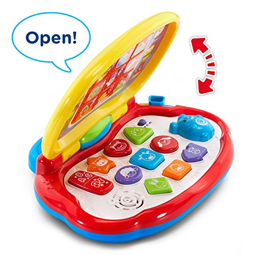 5111lJyappL - VTech Brilliant Baby Laptop,red