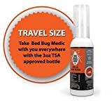 Bed Bug Spray 3oz TSA Approved Travel Size