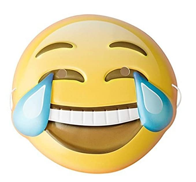 Crying Face Behind Happy Mask Meme