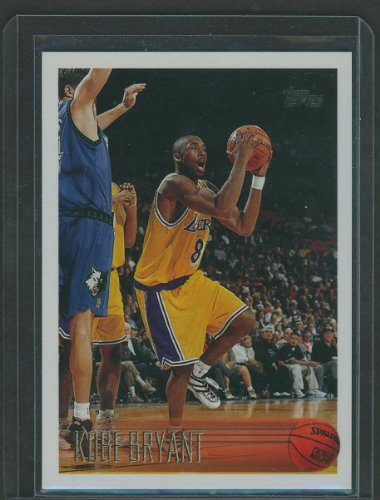 Kobe Bryant 1996/1997 Topps Basketball Near Mint to Mint Rookie Card #138 Shipped in Protective Screw Down Holder!