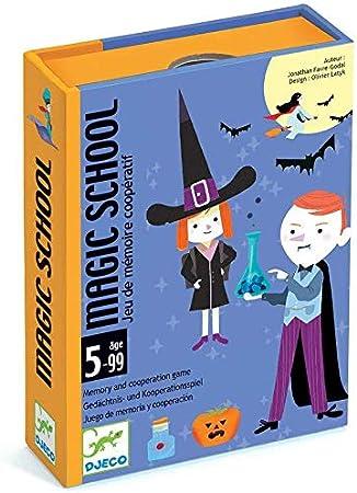 Djeco Cartas Magic School (35144), Multicolor (1): Amazon.es: Juguetes y juegos