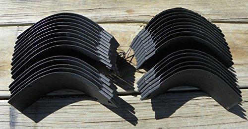15 each John Deere Tiller Tines PT8446 & PT8447 Full Set Model 550