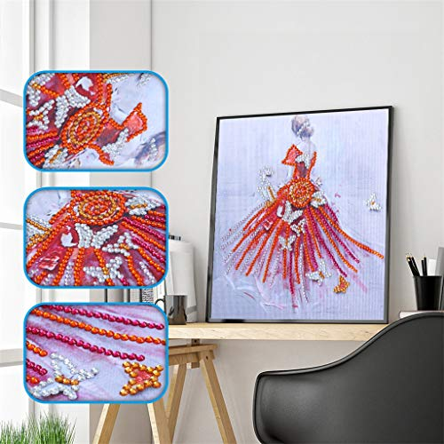 OrchidAmor Special Shaped Diamond Painting DIY 5D Partial