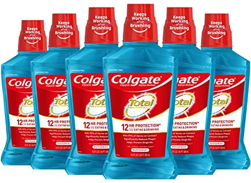 Colgate Total Advanced Pro-Shield Mouthwash, Peppermint Blast - 33.8 oz