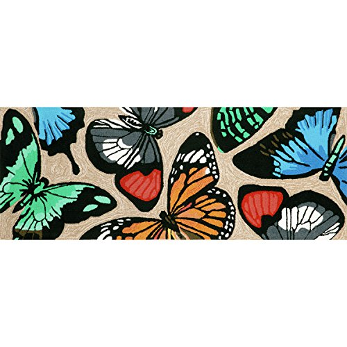Liora Manne FT1R6A78944 Whimsy Colorful Flight Rug, Indoor/Outdoor, 27'' x 72'', Multicolor by Liora Manne