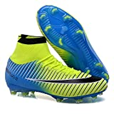 Mens Soccer Cleats Superfly CR7 Kids Soccer Shoes High Ankle FG Soccer Cleats
