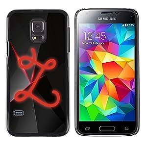 Shell-Star Arte & diseño plástico duro Fundas Cover Cubre Hard Case Cover para Samsung Galaxy S5 Mini / Galaxy S5 Mini Duos / SM-G800 !!!NOT S5 REGULAR! ( Z )