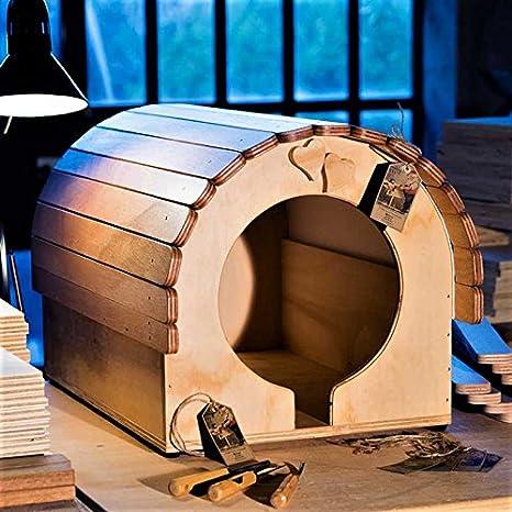 Blitzen novedades, caseta para perro gattoni para perros y de pequeño y mediano tamaño, túneles WP Outoor Love: Amazon.es: Jardín