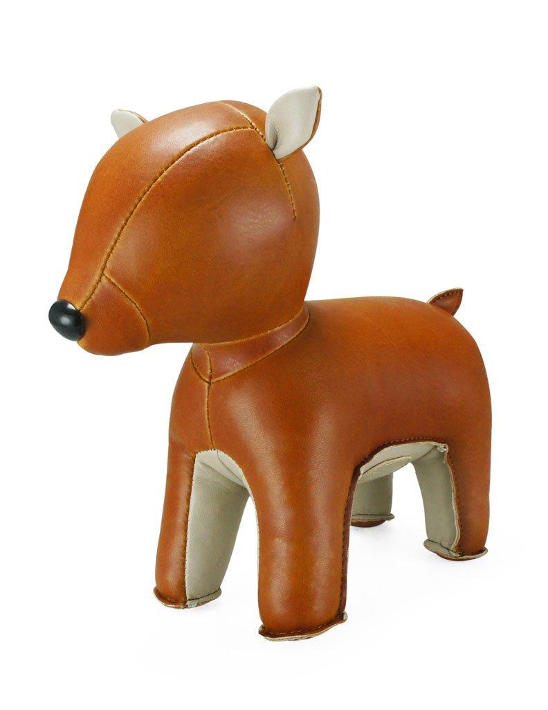 Zuny Series Deer (Pipi) Tan Animal Bookend