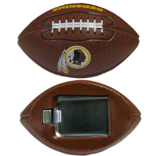 Bottle Washington Opener (NFL Washington Redskins Football Bottle Opener Magnet, 3-Inch, Brown)