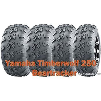 Yamaha Timberwolf 250 ATV front tires set 22x7-10 22x7x10