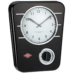 Wesco Kitchen Clock Wall, Black
