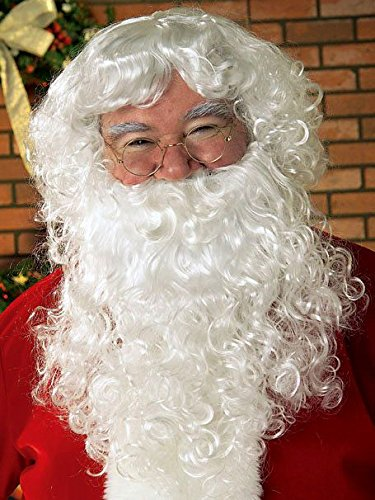 (Rubie's Value Santa Beard Wig Set, White, One)