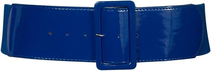 eVogues Plus Size Wide Patent Leather Fashion Belt: Amazon