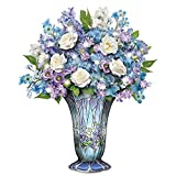 Timeless Beauty Always in Bloom Light Up Floral Centerpiece by The Bradford Exchange
