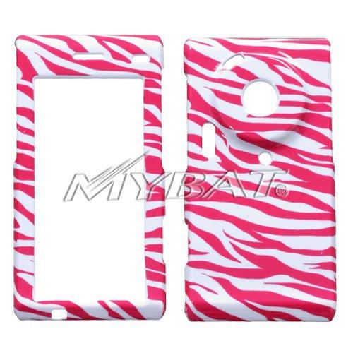 (Zebra Skin (White/Hot Pink) Phone Protector Cover for SAMSUNG T929 (Memoir))