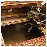 ES Robbins 119336 - Design Series Laminate Chair Mat, 60w x 46l, Metallic Bronze-ESR119336