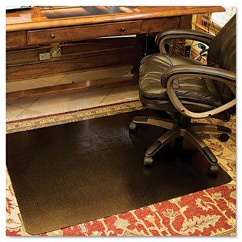 (ES Robbins 119336 - Design Series Laminate Chair Mat, 60w x 46l, Metallic Bronze-ESR119336)