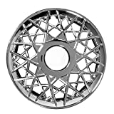 center caps for wheels mercury - Hubcap for Ford Crown Victoria (Single Piece) Wheel Cover - 16 Inch Chrome Replacement
