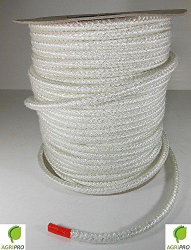 - Agripro - Cuerda de resistencia térmica (hasta 550ºC), perfecta para juntas de estufas, chimeneas y hornos. Diámetro: 10 mm: Amazon.es: Hogar