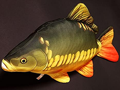 Gaby Cojín Pescado de Carpas 61 cm Manta Peces kuscheltie ...