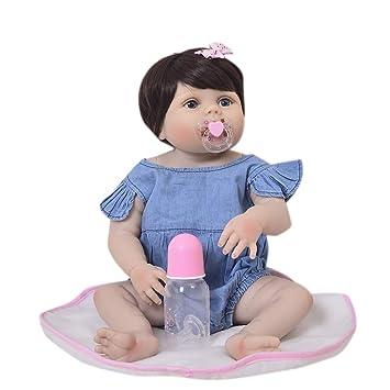 Muñecos Bebé 23inch Sleeping Dolls - 57cm Realistic Silicone Real ...