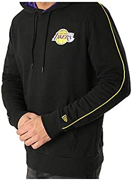 New Era Sweat à Capuche NBA Strike Piping Los Angeles Lakers