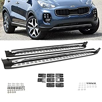 Amazon.com: Escalones laterales para Kia Sportage 2017-2018 ...