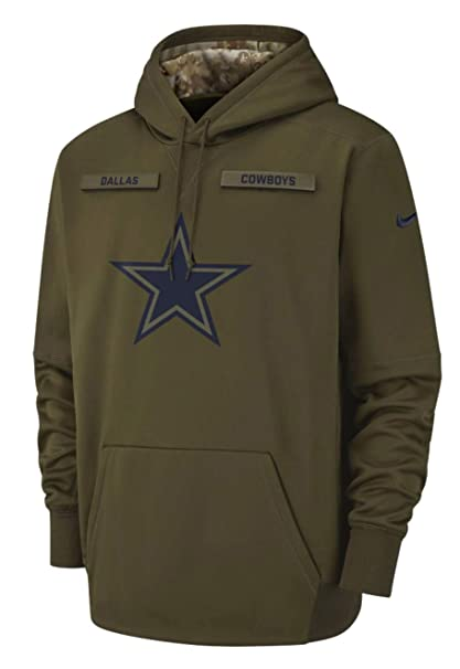 new arrival 13383 6968a Amazon.com : Dallas Cowboys 2018 NFL Salute to Service Men's ...