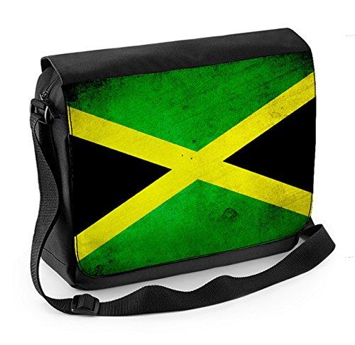 Messenger Messenger Jamaican Flag Laptop Flag Jamaican Flag Jamaican Bag Bag Laptop PTUxqa