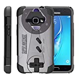 TurtleArmor | Compatible for Samsung Galaxy J1 Case J120 (2016) [Dynamic Shell] Hybrid Dual Layer Hard Shell Kickstand Silicone Case – Classic Game Controller Review