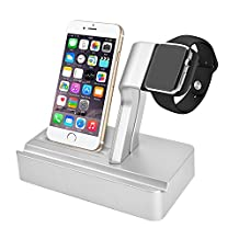 KIMYO Apple Watch Stand, Multipurpose 3-in-1 Charging Stand Holder for Apple iWatch & Ipad & IPhone (iphone 6 /6S /6S Plus/7 /7S plus)