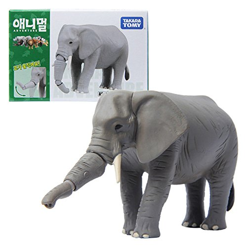 Takara Tomy ANIA Animal AS-02 African Elephant Mini Action F